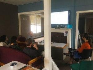 HEAT Squad Teaching Energy Audit at Vermont Law School