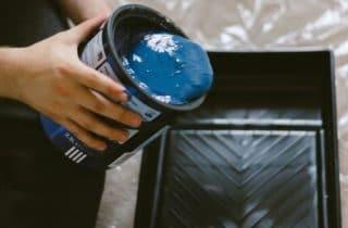 adult-blue-blue-paint-1166401